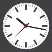 Moderno orologio — Vettoriale Stock