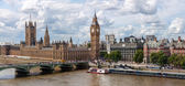 LONDON, UNITED KINGDOM - AUGUST 4: The Palace of Westmister on A — Foto de Stock