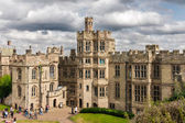 WARWICK, UK - AUGUST 5:  View of Warwick castle  on August 5, 20 — Stock Photo