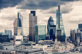 The City of London, Cross Process  — Stock Photo