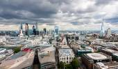The City of London Panorama — Stock Photo