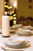 Christmas eve supper — Stock Photo