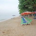 Tropical sand beach — Stock Photo #56930533