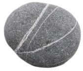 Round stone — Stock Photo