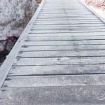 Wooden bridge — Stock Photo #67601371