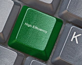 Tecla de acceso rápido de alta eficiencia — Foto de Stock