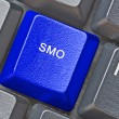 Keyboard with hot key for SMO — Stock Photo #53889651