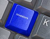 Keyboard with Hot key for investors — Stock Photo