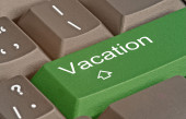 Key to  vacation  — Stock Photo
