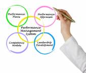 Performance Management System — Foto Stock