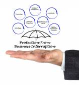 Protection From Business Interruption — ストック写真