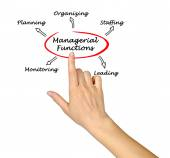 Managerial Functions — Stock Photo