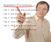 Diabetes prevention — Stock Photo