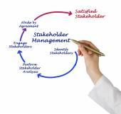 Stakeholder Management — Stockfoto