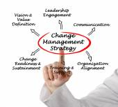 Change Management Strategy — Stock Photo