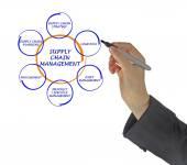 Supply Chain Management — Stockfoto