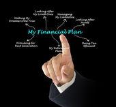 My Financial Plan — Stock Photo