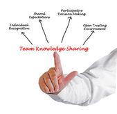Team Knowledge Sharing — Stock Photo