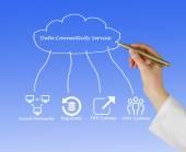 Data Connectivity Service — Stock Photo