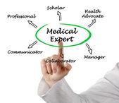 Medico esperto — Foto Stock