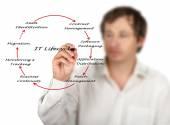 IT Lifecycle Management — Fotografia Stock