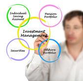 управление инвестициями — Стоковое фото