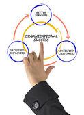 Diagrama de gestión — Foto de Stock