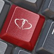 Key for Online dating — Stock Photo #72840669