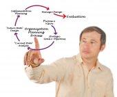 Organization Planning Process — Stock Photo