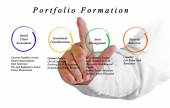 Portfolio Formation — Stock Photo