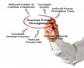 Benefits of Business Process Management  — Stock Photo