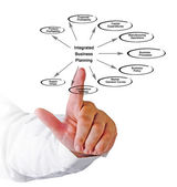 Diagram of Integrated Business Planning — Stock Photo