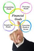 Financial Goals — Stock Photo