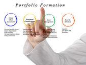 Portfolio Formation — Stock Photo