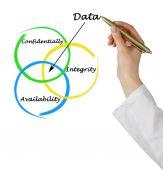 Data properties — Stock Photo