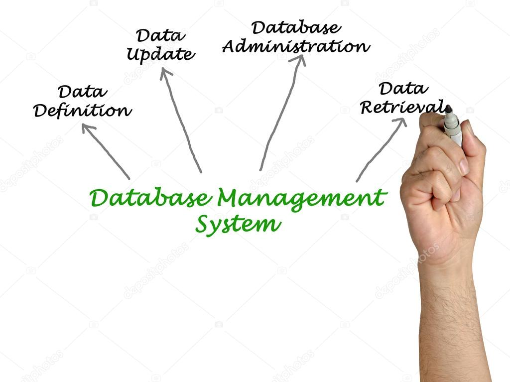 diagram of database management system   stock photo © vaeenma    diagram of database management system  photo by vaeenma
