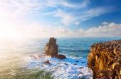Rock in the Atlantic ocean — Stockfoto