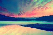 Ir lake — Stock Photo