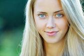 Mooi meisje sensuele portret — Stockfoto