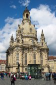 Frauenkirche de Dresden 02 — Foto de Stock