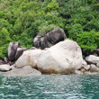 Marine landscape with stone boulders, Koh Tao, Thailand — Stock Photo #66049729
