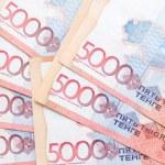 Kazakhstan 5000 tenge money — Stock Photo #65042827