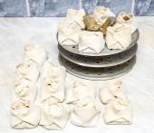 Steamed dumplings with meat — Stock Photo
