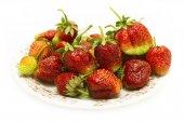 Ripe red strawberries — Stock Photo