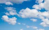 Nubes del cielo azul — Foto de Stock