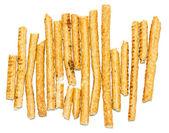 Gezouten brood stokken — Stockfoto