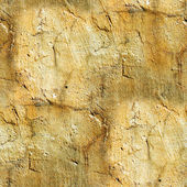 Old yellow wall with cracks — Stock Photo