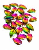 Colorful Crystal Rhinestones — Stock Photo