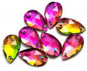 Colorful Crystal Rhinestones — Stock Photo
