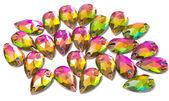 Colorful Crystal Rhinestones — Foto de Stock